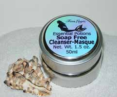 ESSENTIAL POTIONS Peppermint Soap Free Facial Cleanser ...
