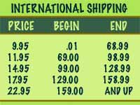 Essential Potions shipping  International